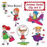 Action Verbs Clip Art 2