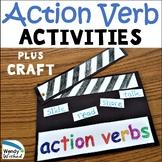 Action Verb Grammar Craft Activity