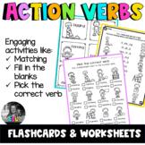 ESL Action Verbs- ESL Flashcards & Worksheets