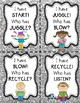 """Action Verbs Game """"I Have, Who Has?"""""""