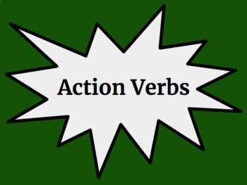 Action Verbs - Google Slides