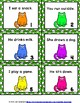 Action Verbs Grammar SCOOT or Task Cards