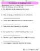 Action Verbs, Helping Verbs, & Linking Verbs {Sweet Sheets}