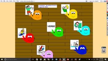 Action Verbs Interactive flipchart