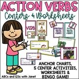 Action Verbs! {K-2 activities}