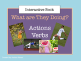Action Verbs:  Language Interactive Book