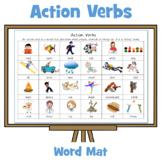 Action Verbs Memo Mat