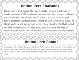 Action Verbs Mini Pack