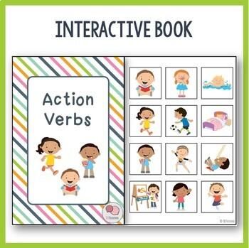 Action Verbs Mini Unit - Speech Language Therapy