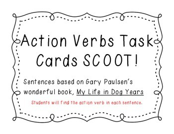 Action Verbs Scoot (My Life in Dog Years theme)