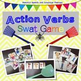 Action Verbs Swat Game