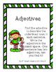 Action Verbs and Adjectives - Christmas Theme
