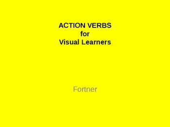 Action Verbs for Visual Learners