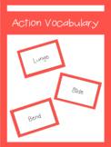 Action Vocabulary Cards | LCI Movement