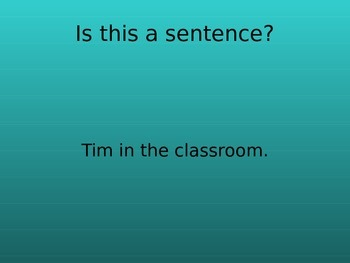 Action Word (Verb) Introduction Power Point Presentation