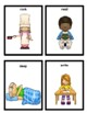 Action Words, Imitation Skills, & Verb Task Cards for Students with Autism