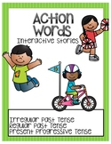 Action Words Interactive Stories-Verb Tense