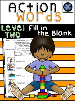 Action Words: Fill in the Blank