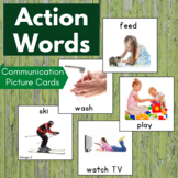 Action Verbs Cards for Special Education