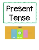 Action Words - Verbs Cards - Present Tense and Past Tense