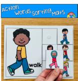 Action Words (Verbs) Sorting Mats