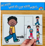 Action Words (Verbs) Sorting Mats