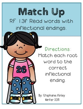 Action Words and Inflectional Endings