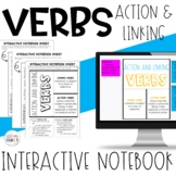 Action and Linking Verbs Interactive Notebook INB | Google Apps