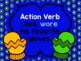 Action and Linking Verbs PowerPoint Winter Themed