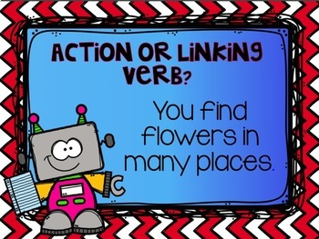 Action and Linking Verbs Powerpoint