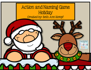 Action and Naming Game Holiday