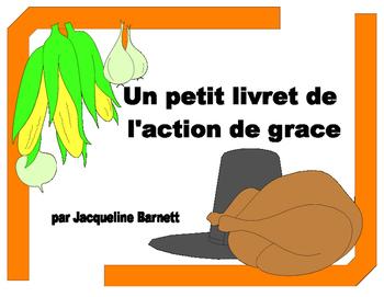 Action de grace livret - FRENCH Thanksgiving book