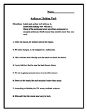 Action or Linking Verbs?