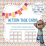 Movement break action task cards