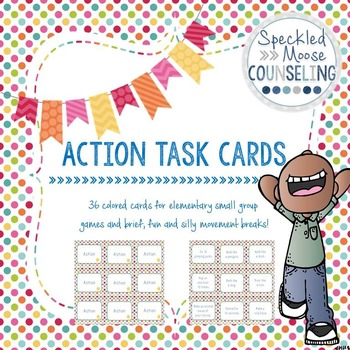 Action task cards