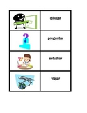 Action verbs in Spanish Concentration games