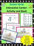 Action verbs -printable creative writing book