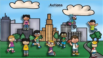 Actions - I Can - PowerPoint Interactive Lesson