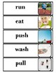 Actions Interactive Word Wall for Autism