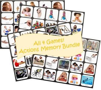 Actions Memory Games Bundle