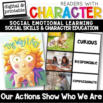 Actions Show Others Who We Are - Character Education | Social Emotional Learning