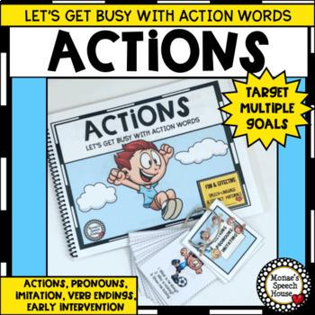 Actions Verbs Pronouns