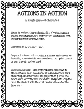 Actions in Action