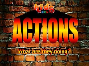 """Actions"" presentation"