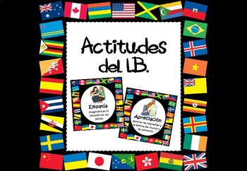 Actitudes del IB (IB PYP/MYP Attitudes Posters) in Spanish
