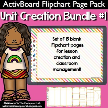 ActivBoard Flipchart Pack : Unit Creation Bundle #1