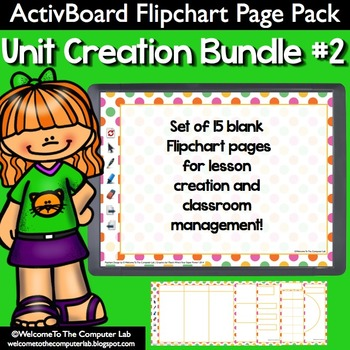 ActivBoard Flipchart Pack : Unit Creation Bundle #2