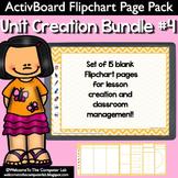 ActivBoard Flipchart Pack : Unit Creation Bundle #4