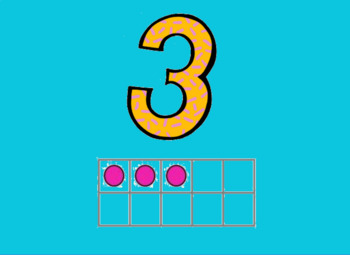 ActivBoard Numbers Chart 1-5