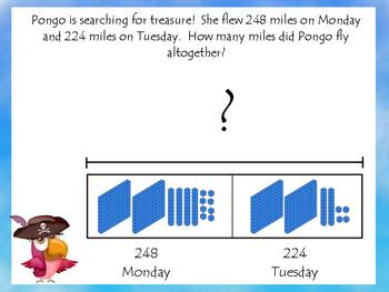 ActivBoard Smartboard Flipchart 3 & 4-Digit Addition w/Regrouping